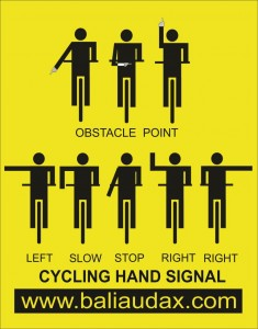 SIGN CYCLING S